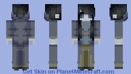 Human Silverfish ~ Mobs (Male in Description) Minecraft Skin