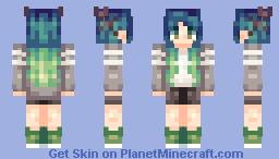 OC | Acacia Minecraft Skin