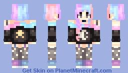 Wandering the Pastel Cosmos Minecraft Skin