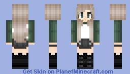 Edgy Blonde Minecraft Skin