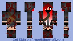 Killer Girl Minecraft Skin