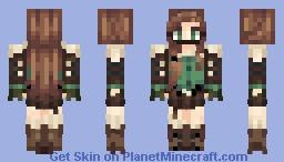 assasing ish girl Minecraft Skin