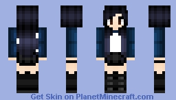 Rebel Girl Minecraft Skin