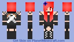 Warrior girl. Minecraft Skin