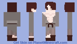 Not everyone was rich back then. Minecraft Skin