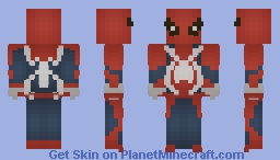 Spider-Man E3 2016 PS4 Official Minecraft Skin