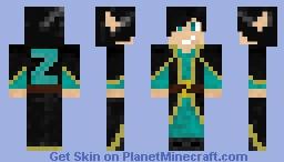 Thaumic Mage Zekter Minecraft Skin