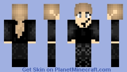 Tris Prior Dauntless Minecraft Skin
