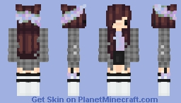 ✿ Main ✿ [Chibi w/ flannel] Minecraft Skin