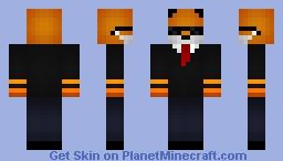 ❤ѕωιƒту❤ Agent Foxx Minecraft Skin