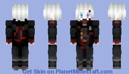 Allen Walker (D. Gray-Man: Hallow) Minecraft Skin