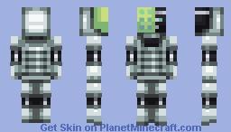 Antivirus Minecraft Skin