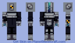 Cosmic Paladin Minecraft Skin