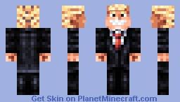 Donald J. Trump Minecraft