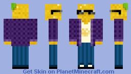 PineApple Guy (Wait what....?) Minecraft Skin