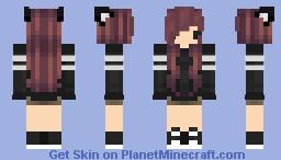 ✾Neko Chibi ✾ [Chibi Girl] Minecraft Skin