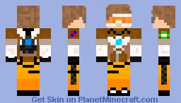 Me as tracer (Overwatch) Minecraft