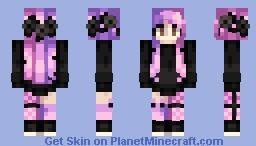 Pastel Demon Minecraft Skin