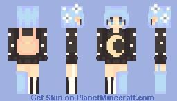 🌙   hey moon Minecraft Skin