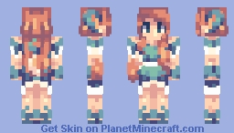 Sarayne (DashLash's Contest Entry) + Hiatus Thingy Minecraft Skin