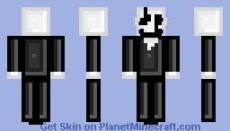 W. D. Gaster -Gaster Series- Minecraft Skin