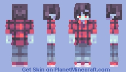 Some vampire kid probably Minecraft Skin