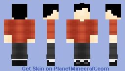 The boy - INSIDE (by PlayDead) Minecraft Skin