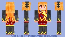 Junko (Touhou) Minecraft Skin
