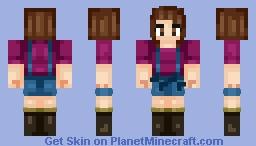 ♥~ Rere ~♥ Request | Malia Tate (Long hair in the description) Minecraft Skin