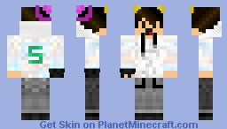 Cartoon guy Minecraft Skin