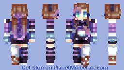 Oblivion and Demly's Contest ! Minecraft Skin