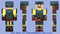 Oda Nobunaga (beter in preview) Minecraft Skin