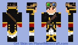 Onyx_Swordsman's skin Minecraft Skin