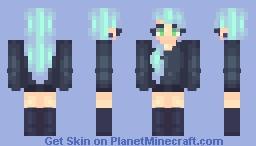 Simple shading test? Minecraft Skin
