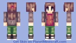 OC | Elizabeth Minecraft Skin