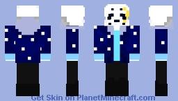 UnderNight Sans Minecraft Skin