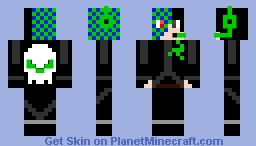 Demon Eye Nico Minecraft Skin