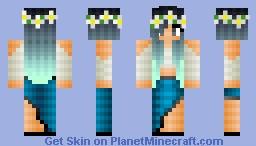 Coachella Girl Minecraft Skin