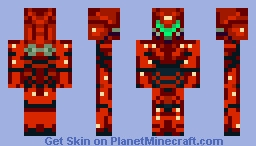 Samus Aran (Metroid) ((I'm back!)) Minecraft