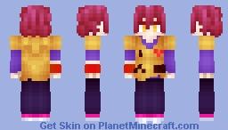Sora (No Game No Life) Minecraft Skin