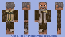 Old Man of the Sparrows [Contest] Minecraft Skin