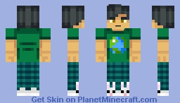 ♬₵ø~Ѻкḯℯ♬ - Requested by kazuki_45 Minecraft Skin