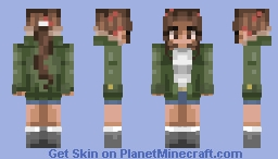..into the woods!.. Minecraft Skin