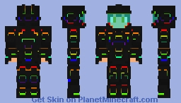 Cool thing idk what to call it Minecraft Skin