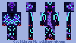 Ender Demon Minecraft Skin