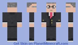Adolf Hitler Minecraft Skin - Skins para minecraft pe hitler