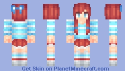 Wendy Minecraft Skin