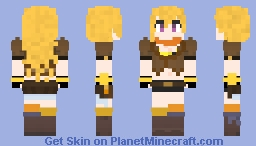 RWBY - Yang Xiao Long (v2.0) Minecraft Skin