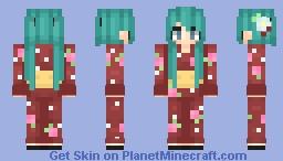 ❀ Hatsune Miku Kimono ❀ | Daaylii Minecraft