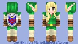 ☯Ϻίɗ☯ Female Link Reshade Minecraft